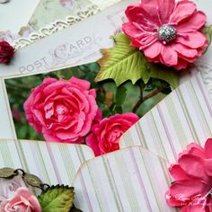 Where the Roses Grow layout by Dana Tatar for Pion Design - Where the Roses Grow collection