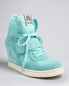 Ash Lace Up Wedge Sneakers - Cool   $146.25