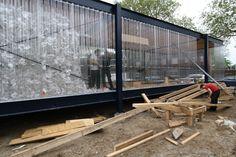 Bâtiment écologique - Le Pavillon en plastique à Enschede  - Photo detail: B âtiment écologique - Le Pavillon en plastique à Enschede . Lisez en plus sur Logic-Immo.be !