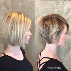 Tousled Asymmetrical Bob – Stylish Balayage Short Hairstyles for Women