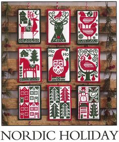Nordic Holiday - Cross Stitch Pattern