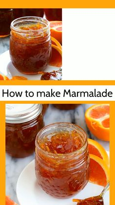The varieties of homemade orange marmalade that you can create are home are endless. Take advantage of winter citrus season and make this cara cara orange marmalade recipe. The bright flesh of cara cara oranges is stunning! Sugar Free Orange Marmalade, Orange Marmalade Recipe, Orange Jam, Grapefruit Recipes, Kumquat Marmalade Recipes, Satsuma Recipes, Grapefruit Marmalade, Recipes, Vegetables