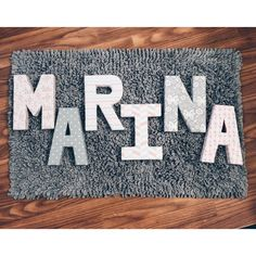 Paper Mache letter covered with quilted fabrics, perfect for Nursery Decor See this Instagram photo by @blondasybrillo • 11 likes