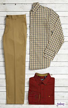 These are great gift options for Dad! #plaid #gordmans