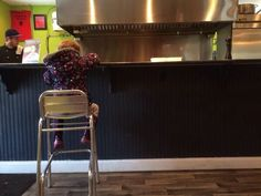 Relishing this picture. She liked to watch her burger being made Pictures, Furniture, Watch, Home Decor, Ideas, Photos, Clock, Decoration Home, Room Decor