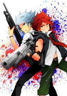 Inazuma eleven - Suzuno and Nagumo Anime Chibi, Me Anime, Anime Manga, Anime Guys, Red Hair Anime Guy, Byron Love, Fanfiction, Inazuma Eleven Go, Epic Art
