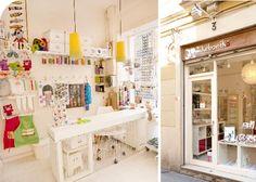 A nice DIY Shop in Barcelona
