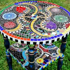 Mosaic table - I want to make a BIG one for the porch or just because!
