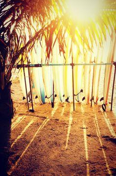 Sunshine surfboards. #cuidatuplaya