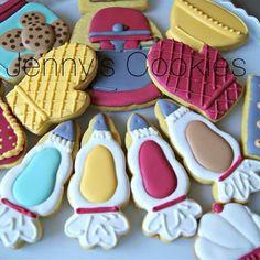 Jenny's Cookies:  Making cookies set.  So cute!