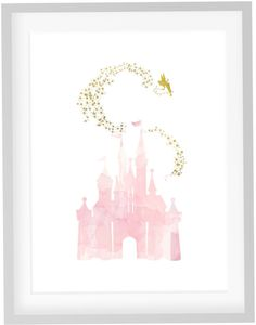 Tinkerbell Print DIY Printable Pink Blush by JoshandDavids on Etsy