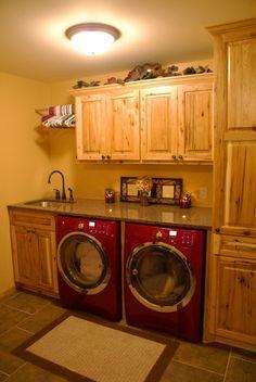 Laundry room.  Love it!