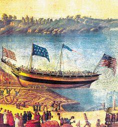 ZFC Item Print Page - U.S. 15 Star Union Jack - Merchant ship Vineyard.