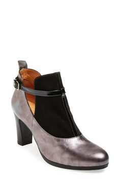 Free shipping and returns on Hispanitas 'Atlanta' Bootie (Women) at Nordstrom.com. Metallic leather lends whimsy to a striking bootie with daring cutouts and a patent T-strap accent.