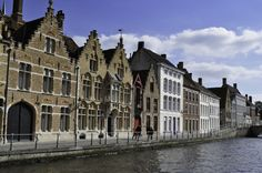 Along the water — Brugge, Belgium