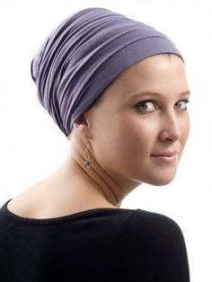 Judith de Paris cotton/lycra turban wraps.  want want want.  Very simple and slip-resistant.