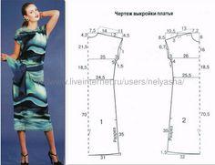 50 простое трикотажное платье ,хоть в мир , хоть в пир осталось только  выбрать подходящую ткань .... http://fotki.yandex.ru/users/a9172737847/view/1192458/