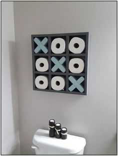 half Bathroom Decor Unusual Toilet Paper Holders ideas that Every Bathroom Wants. Funny Toilet Paper Holder, Toilet Paper Storage, Bathroom Toilet Paper Holders, Toilet Roll Holder, Diy Casa, Bathroom Layout, Bathroom Storage, Boys Bathroom Decor, Dyi Bathroom