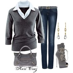 """""""Casual Friday"""" by keri-cruz on Polyvore"""