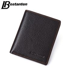 BOSTANTEN Brand Men Wallets Genuine Cowhide Leather Designer Male Purse Luxury Brand Cheap Small Wallets Vintage Short Money Bag #>=#>=#>=#>=#> Click on the pin to check out discount price, color, size, shipping, etc. Save and like it!