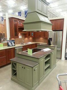 Craftsman Kitchen cabinets