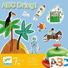 Djeco ABC Dring - Game of language `One size Details : The card chosen is the F . The first one to find a word containing the letter F in the image hits the ringer and wins, learning, 15 minutes, 1 doorbell From 2 to 5 years old, player(s) Age : http://www.comparestoreprices.co.uk/january-2017-7/djeco-abc-dring--game-of-language-one-size.asp
