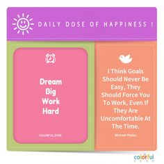 Daily dose of happiness and colors - To live a happier life, be brave and live your dream:) What Makes You Happy, Are You Happy, Positive Mindset, Positive Vibes, Happiness Is A Choice, Power Of Positivity, Mindfulness Quotes, Self Development, Happy Quotes