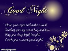Good Night Picture Message And Quotes Good Night Pics Good Night