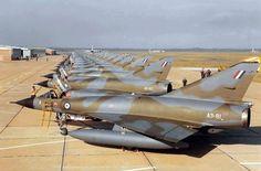 Royal Australian Air Force Dassault Mirage IIIOAs at Willytown Royal Australian Navy, Royal Australian Air Force, Military Jets, Military Aircraft, War Jet, Dassault Aviation, Australian Defence Force, Photo Supplies, Army & Navy