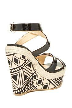 Rosamond Wedge Sandal