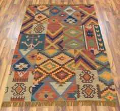 jeff banks - kilim patchwork image 1 - modern rugs