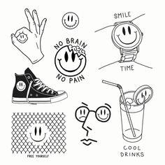 Kritzelei Tattoo, Doodle Tattoo, Poke Tattoo, Mini Tattoos, Body Art Tattoos, Small Tattoos, White Tattoos, Ankle Tattoos, Word Tattoos