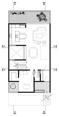 Small House Layout, House Layout Plans, Floor Plan Layout, New House Plans, Modern House Plans, Small House Plans, House Layouts, Villa Design, House Design