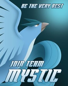 Team Mystic Propaganda Poster by Justonescarf on Etsy
