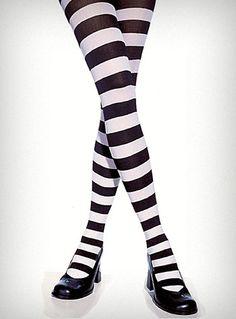 black + white = stripes