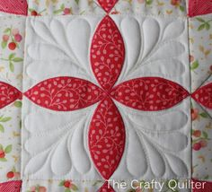 Starflower Pillow made by Julie Cefalu; from the book, Playful Petals