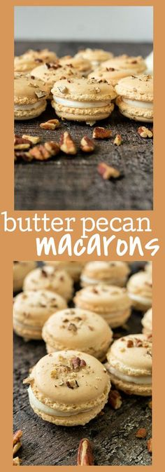 Pecan Cookie Recipes, Butter Pecan Cookies, Delicious Cookie Recipes, Best Dessert Recipes, Easy Desserts, Nut Recipes, Sweets Recipes, Healthy Desserts, Fall Recipes