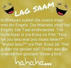 #BrakpanSA #LagBietjieToe #Grapkas You Funny, Funny Jokes, Family Qoutes, Afrikaanse Quotes, Everyday Quotes, Twisted Humor, Pretty Words, Funny Clips, Good Morning Quotes
