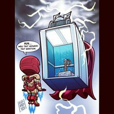Why Thor's hammer wasn't able to be lifted be others. Special mpv god level elevator anyone?