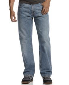 Levi's 569 Loose Straight Fit Jeans - Blue 29x30