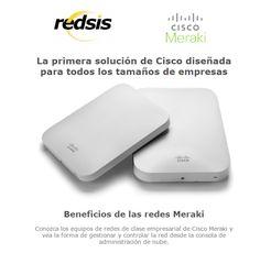 La primera solución de #Cisco diseñada para todos los tamaños de #empresas - #RedsisIT - #Meraki