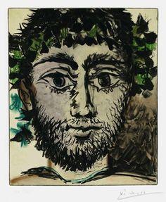 Pablo Picasso, Le Faune (The Faun), 1958