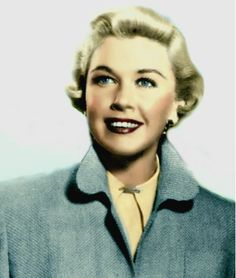 Young Doris. Color was added.