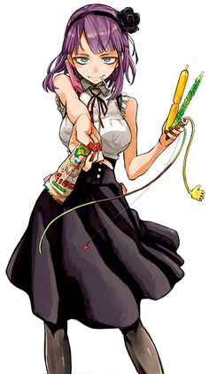 Cool Anime Girl, Beautiful Anime Girl, Anime Art Girl, Moe Anime, Kawaii Anime, Manga Anime, Anime Titles, Anime Characters, Character Drawing