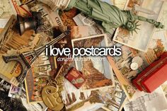 and hand written letters.. I miss the days of opening the mailbox and getting a letter or post card