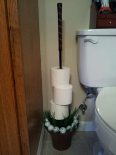 Golf club decoration google search projects to try for Sports themed bathroom ideas