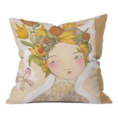 Beauty On The Inside Pillow by Cori Dantini at Joss & Main
