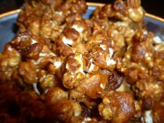 Peanut Butter Popcorn  This is one of our favorite snacks. It's easy to make and cheap.
