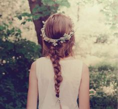 """I carefully braided the flowers into a crown. Lyza mockingly lifted her head like a queen as I placed it on her hair. She laughed, and fluttered her eyelashes. I stopped smiling for a second as I remembered Spire. My chest was heavy with regret as I watched Lyza spin around giddily.  """"Stop it, Lyza."""" I said sharply. She looked at me, the corners of her mouth falling. """"What?"""" She asked. -Rory Lee"""