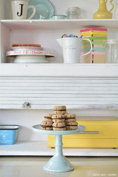 Curly Girl Kitchen: Peanut Butter Ganache Cookie Sandwiches